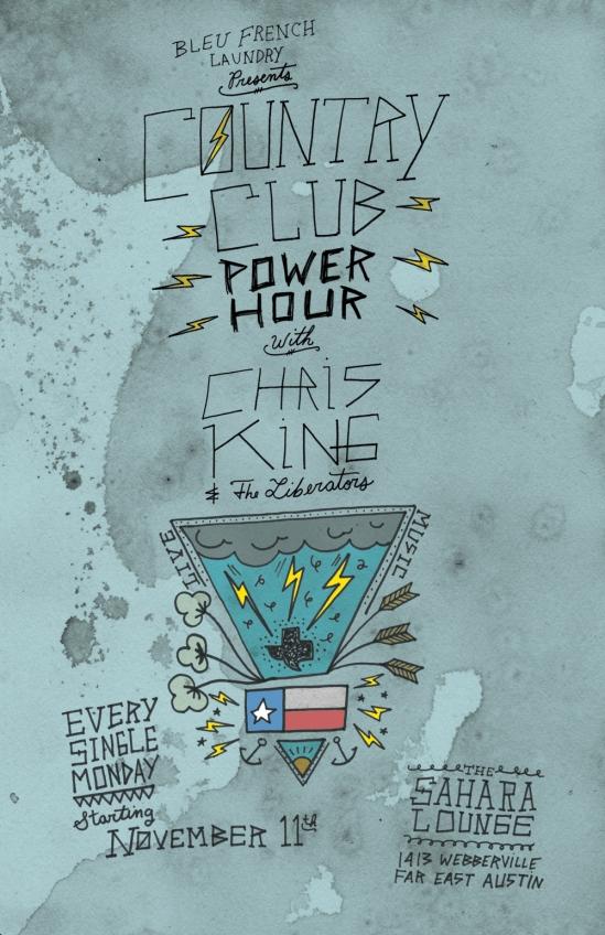 Chris King Sahara Monday Residency