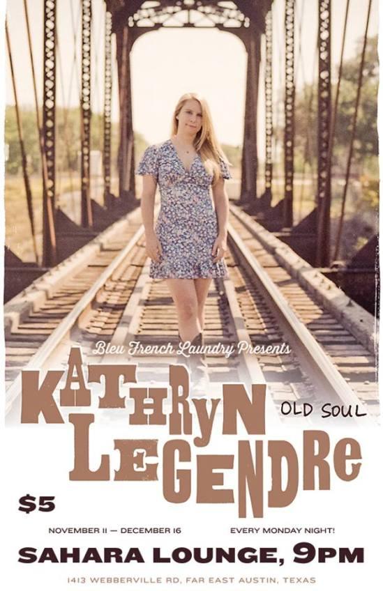 Kathryn Legendre Sahara Monday Residency
